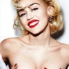 Miley Cyrus Nude Photo Shoot For Vogue Germany & Topless With Two Dudes In Bed!