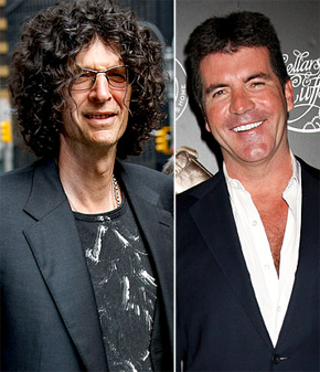 Howard Stern Simon Cowell Replacement