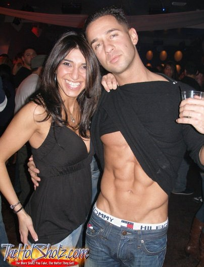 jersey shore mike abs