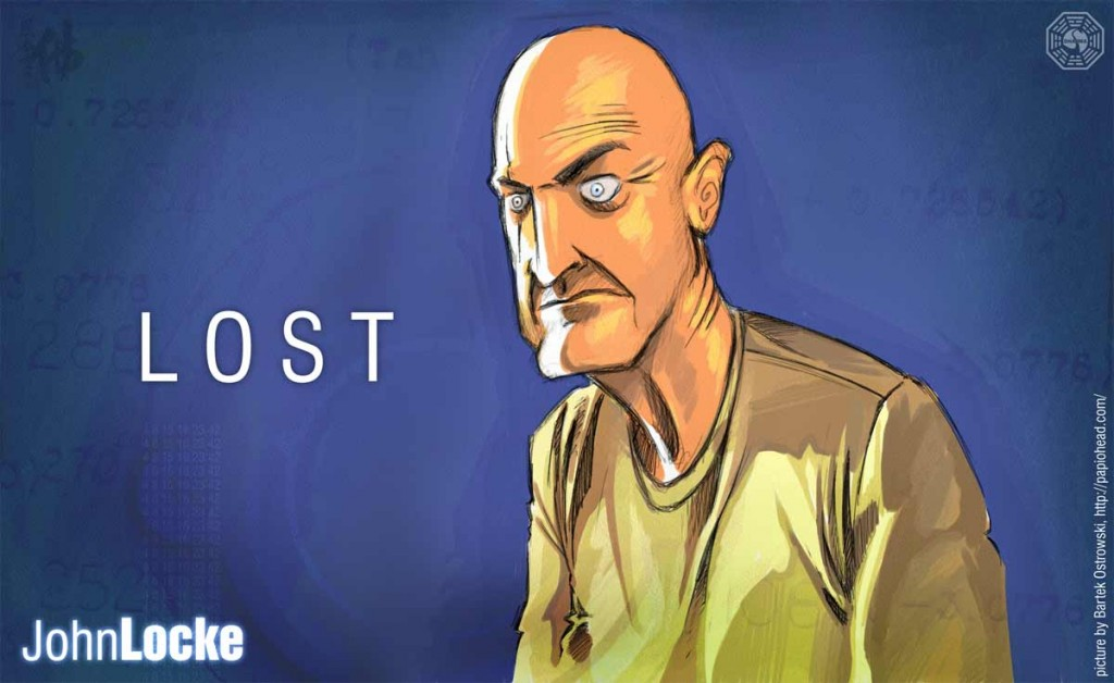John Locke Possessed on Lost