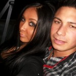 snooki and pauly d in a limo