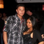 snooki and her tits with pauly d from jersey shore