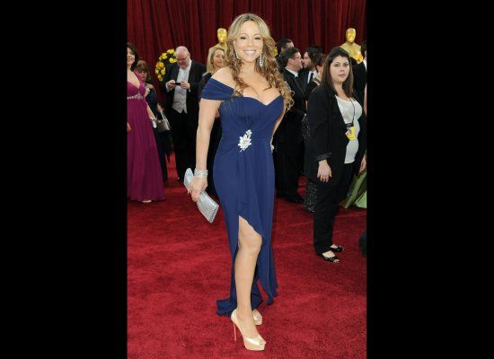 mariah carey looking fat on the red carpet
