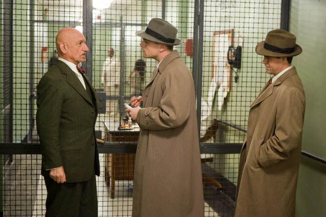 leo shutter island scene from the movie