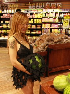 tila tequila pregnant 225x300 Tila Tequila Naked(almost) & Not Pregnant Shopping