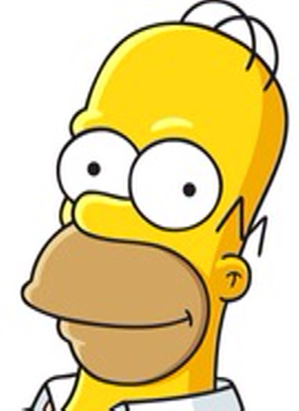homer simpson's naked woman lookalike