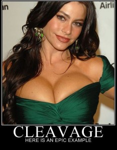 modern family cleavage 233x300 Sofia Vergara & The Other Hot Girls Of Modern Family