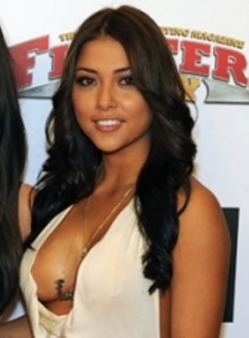 arianny celeste tits slip out of her dress