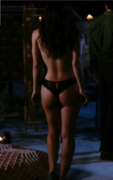eliza dushku's ass in a thong