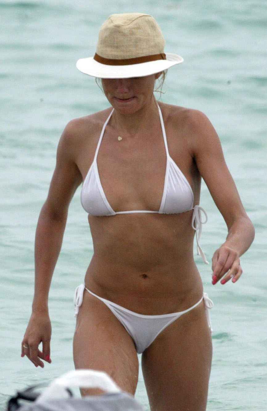 Also Cameron diaz see through bikini are