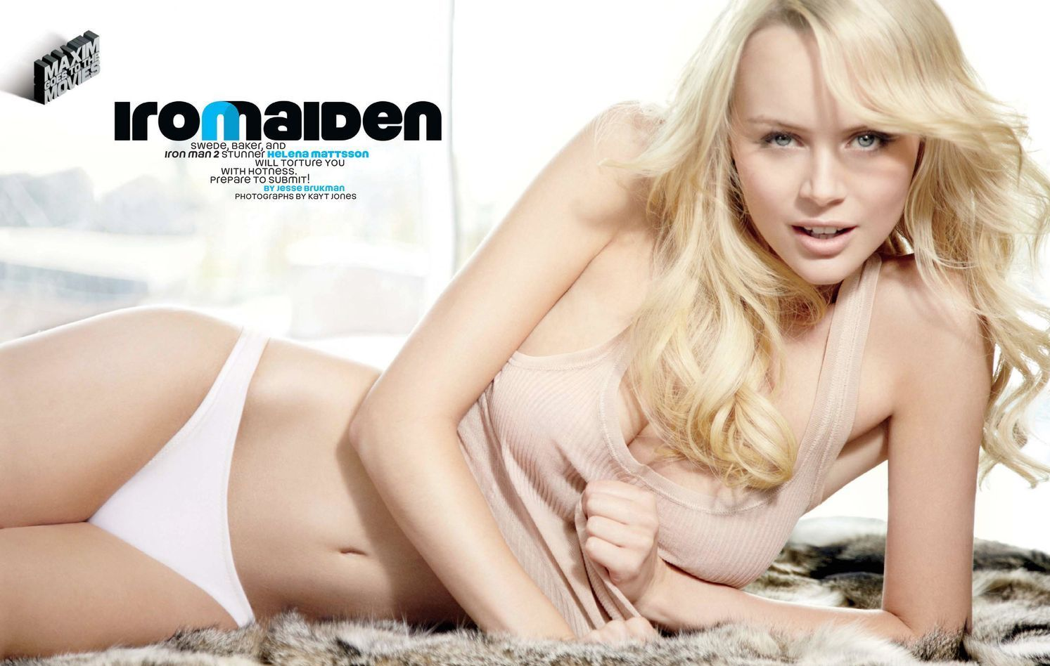 helena mattsson in her underwear