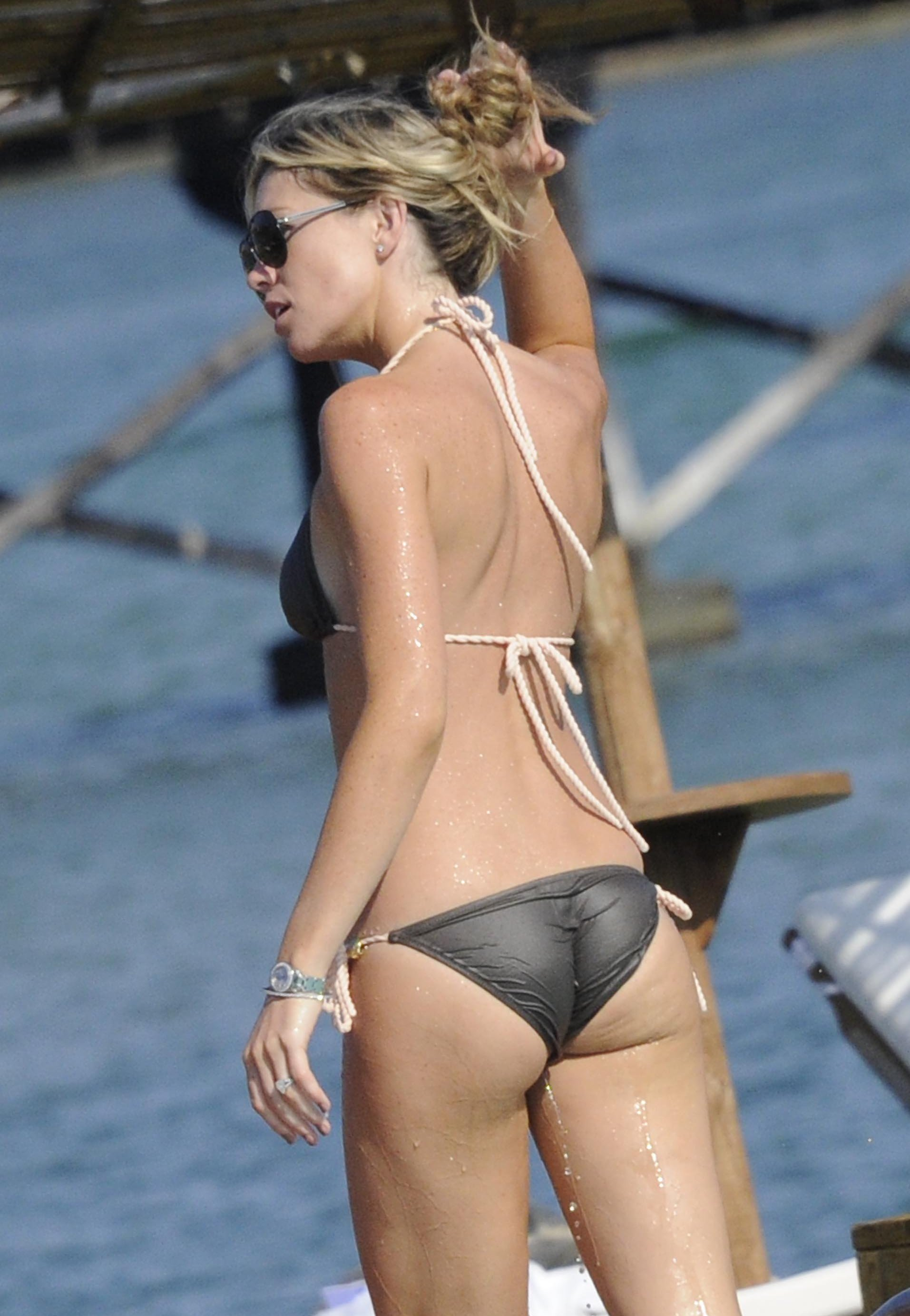 abbey clancy swimsuit ass hot Abbey Clancy Bikini Pictures Will Tickle Your Fancy