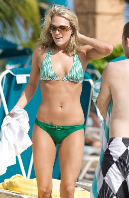 carrie underwood cameltoe