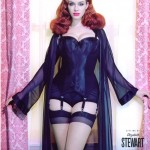 christina hendricks fishnets