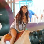 snooki fat tits 150x150 Snookis Upskirt When Her Fat Porker Ass Went Bull Riding In Granny Panties