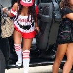 snooki tits1 150x150 Snookis Fat Ass Is Naked In These Upskirts Photos With No Panties