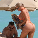 nicole coco austin thong 150x150 Nicole Coco Austin Bikini Pictures With Nip Slips Crotch Pics & Much ASS!!