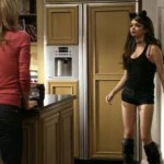 sarah hyland long legs 150x150 Sarah Hylands Slutty Halloween Costumes With Cleavage On Modern Family
