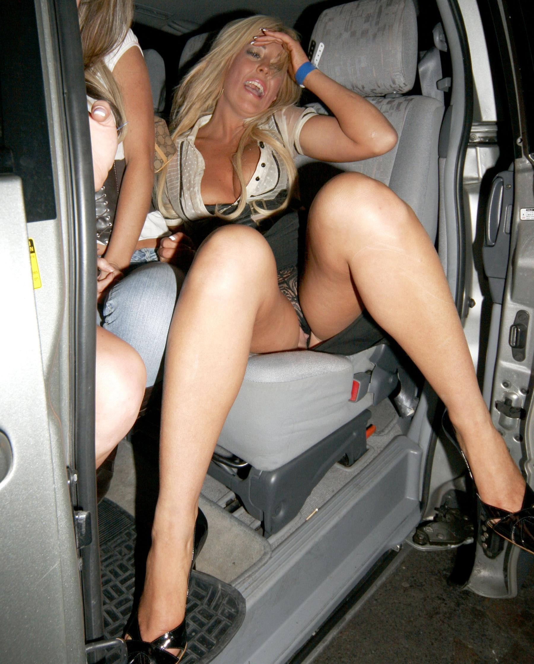 Oops slip upskirts pussy