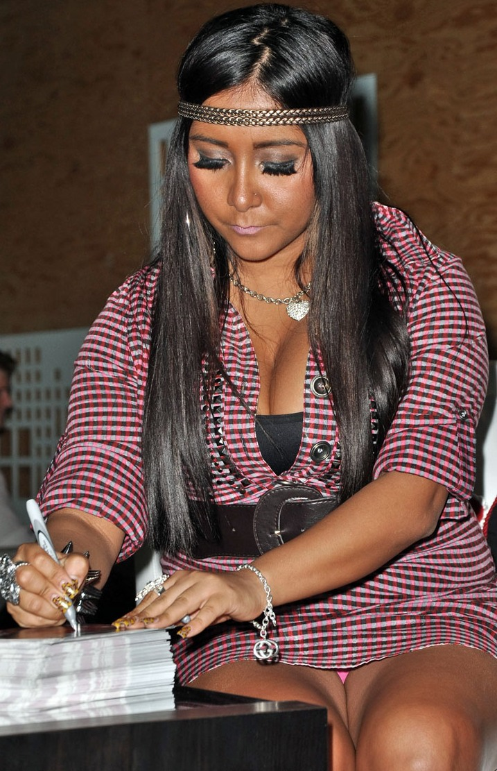 snooki upskirt panties