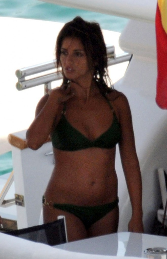 monica cruz in a bikini