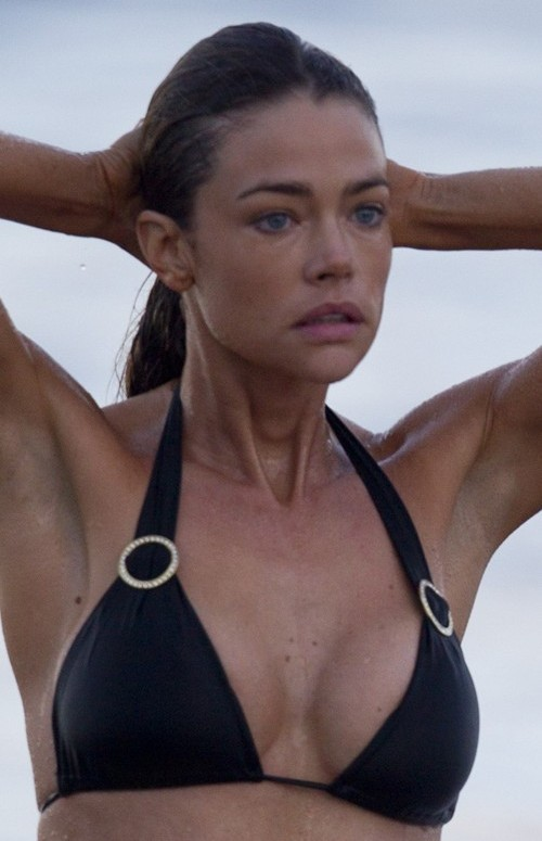 denise richards implants