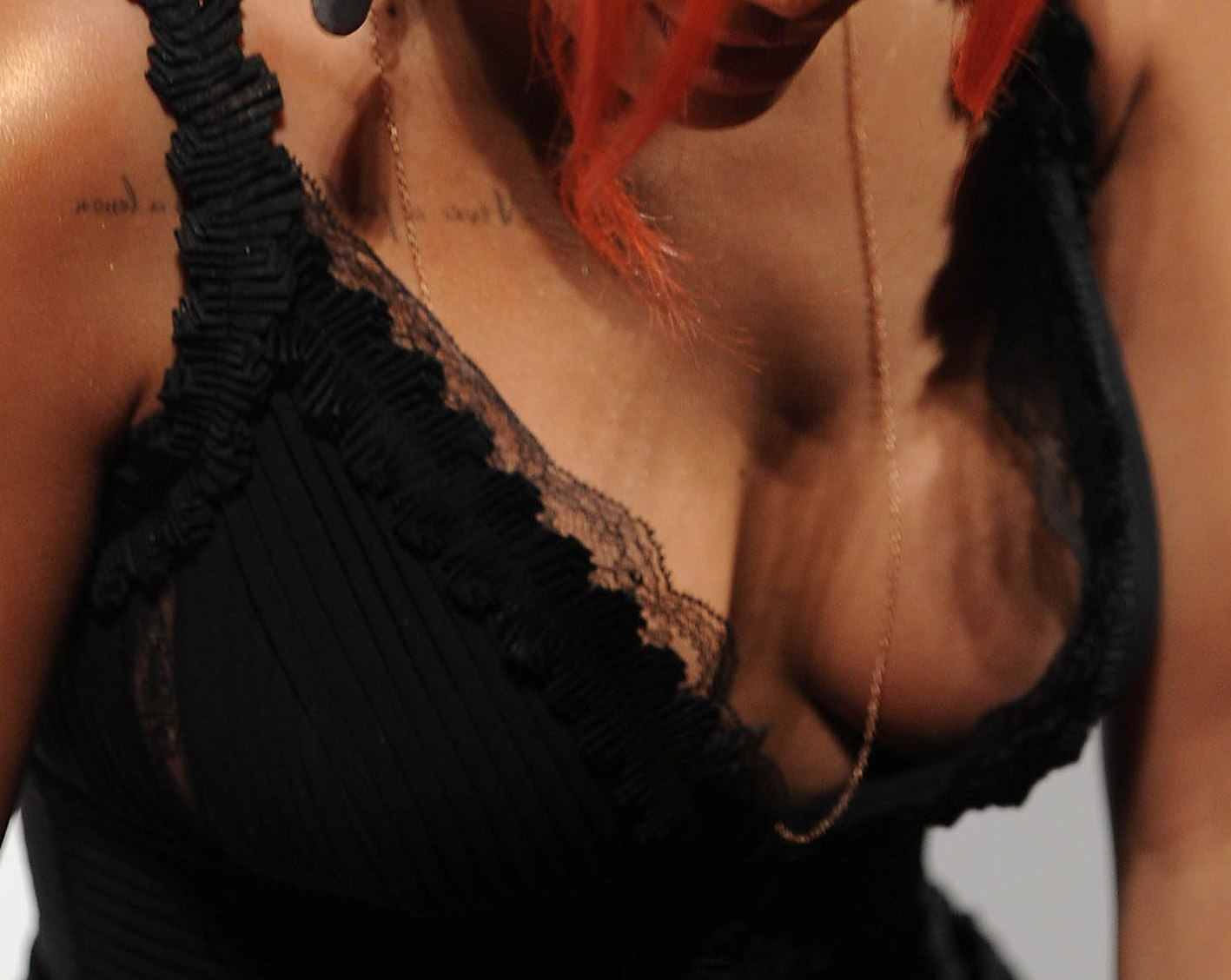 RIHANNA tits