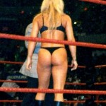 trish stratus thong 150x150 Trish Stratus Topless & Hot Ass In Thong Inside The Ring Exposed