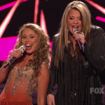 girls american idol young hot 150x150 American Idols Haley Reinhart & Lauren Alaina Shows Their Open Mouthed Skills