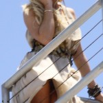 lindsay lohan upskirt 150x150 High Def Pics Of Lindsay Lohan Boob Slip, Naked Tits, Upskirt, & SHAVED FIRECROTCH VAGINA In See Through Panties HOT!