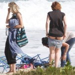 miley cyrus butt cheeks 150x150 Miley Cyrus Pulls Her Pants Down To Show That Ass & Hot Bikini Butt Close Ups