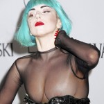 lady gaga naked breasts