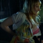 melissa rauch tits in bra 150x150 Kaley Cuoco Supergirl & Purple Skirt With A Nice  T & A Show VS Her Co Star Melissa Rauchs Big Jugs In True Blood