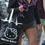 snooki cleavage & cameltoe