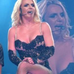 britney spears cleavage 150x150 More Britney Spears Concert PIcs OF Ass & Crotch