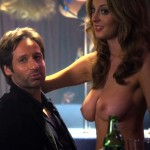 eva amurri takes off her clothes to show topless nude big tits
