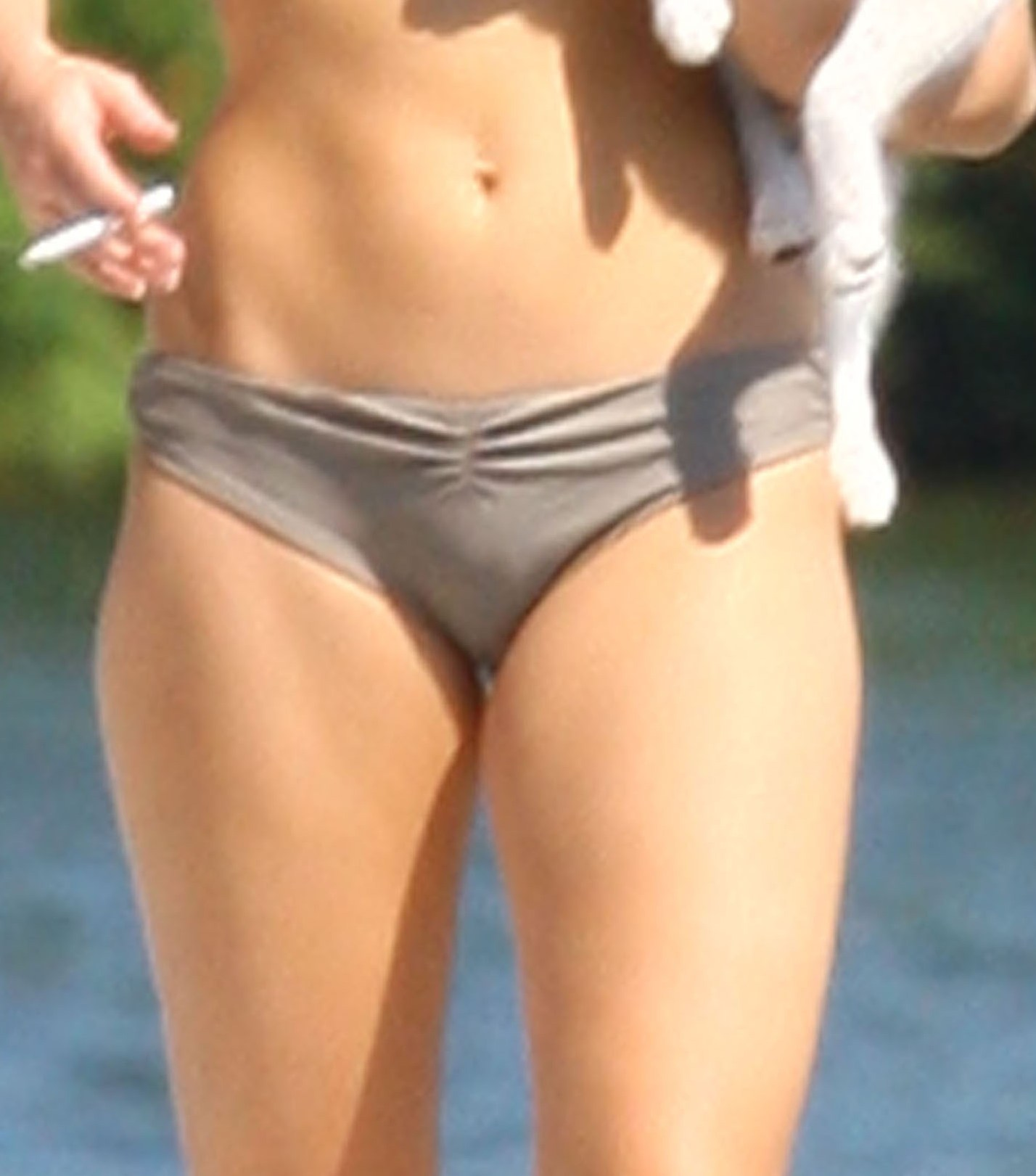 Miley Cyrus Pussy Mound Here Are Some Bikini