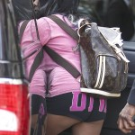 snooki cameltoe and bent over ass in short shorts