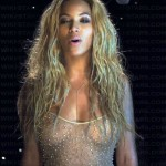 BEYONCE NIP 150x150 Beyonces See Through Shirt Shows Some Nipples