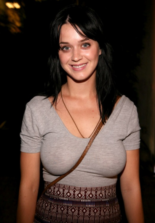 KATY PERRY NO BRA Katy Perrys Big Jugs & Ass Bent Over When She Was Young