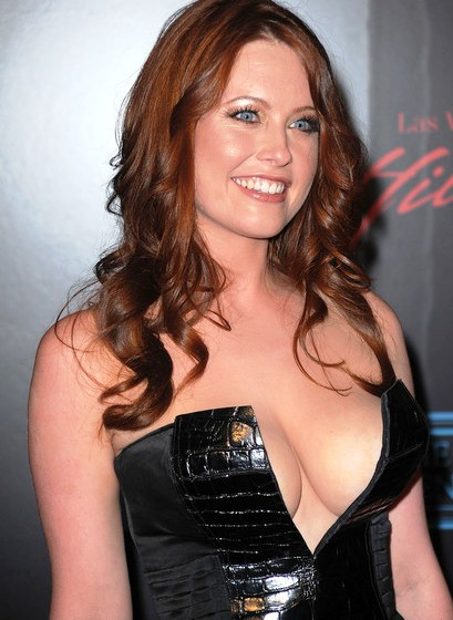 melissa archer huge breasts and big cleavage