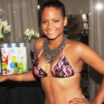 christina milian thong slip ass leak big tits bikini