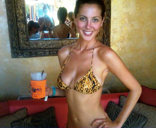 eva amurri weight loss and big tits in a bikini & tight dress