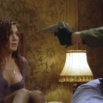 jennifer aniston bra slip 150x150 Jennifer Aniston At Gun Point, And The Supposed Topless Nude Pics Of Her