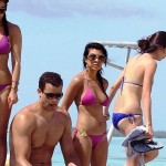 kardashian jenner girls bikinis bora bora 150x150 Kendall Jenner Is In A Bikini In Bora Bora With Her Sisters