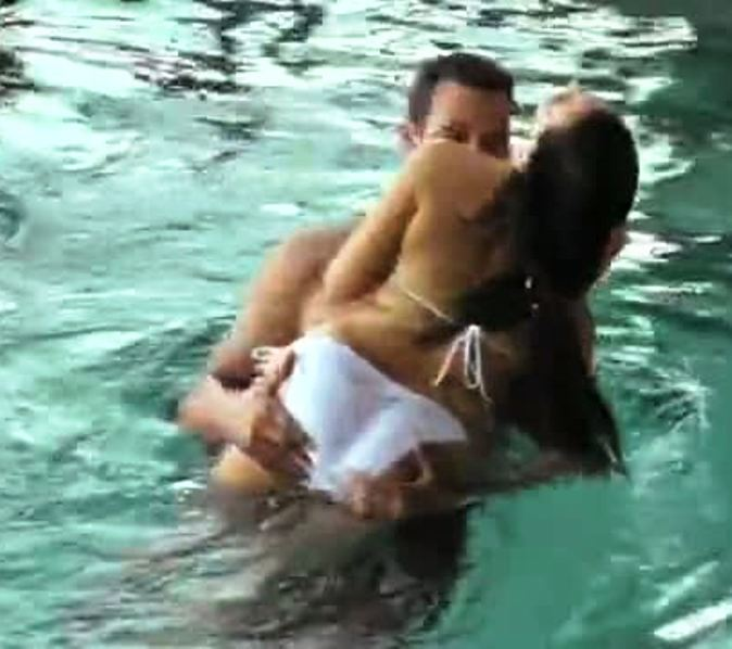 Kim Kardashian Humping Chris Humphries In More Honeymoon Ass Filled