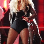 christina aguilera fat weight gain in concert