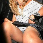 BEYONCE UPSKIRT 150x150 Beyonces Pussy Will Look Like This No More Shortly After She Pushed Out Jigga Jr.