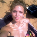 AnnaLynne McCord TOPLESS ALMOST