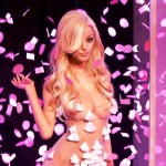 zahia dehar breasts and new lingerie